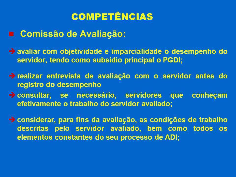 Comissão de Avaliação:
