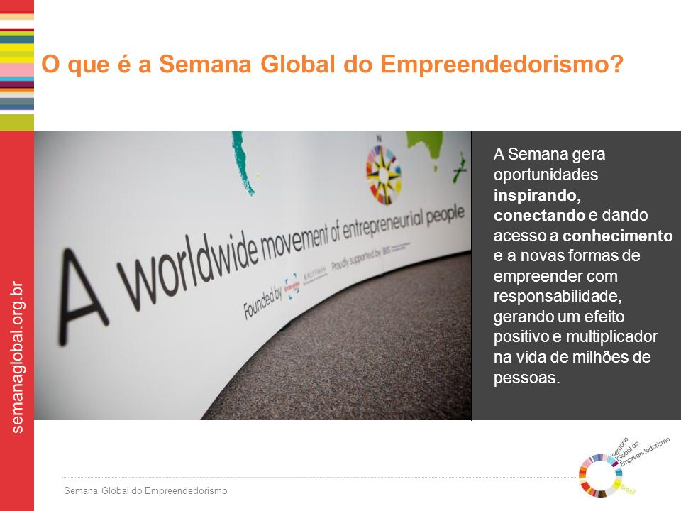 O que é a Semana Global do Empreendedorismo