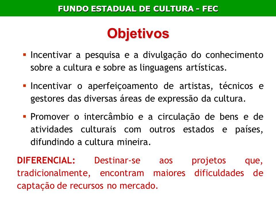 FUNDO ESTADUAL DE CULTURA - FEC