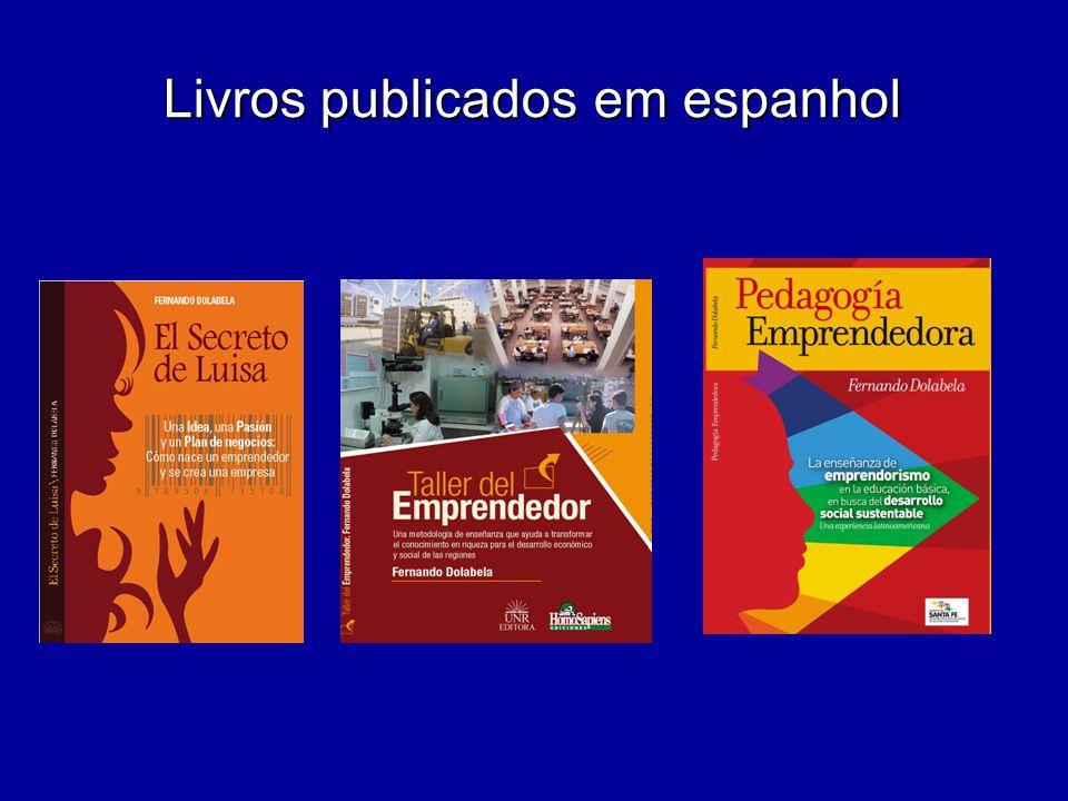 Livros publicados em espanhol