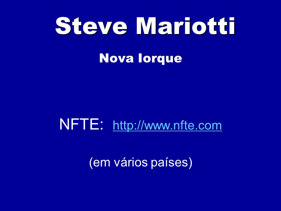 NFTE: http://www.nfte.com