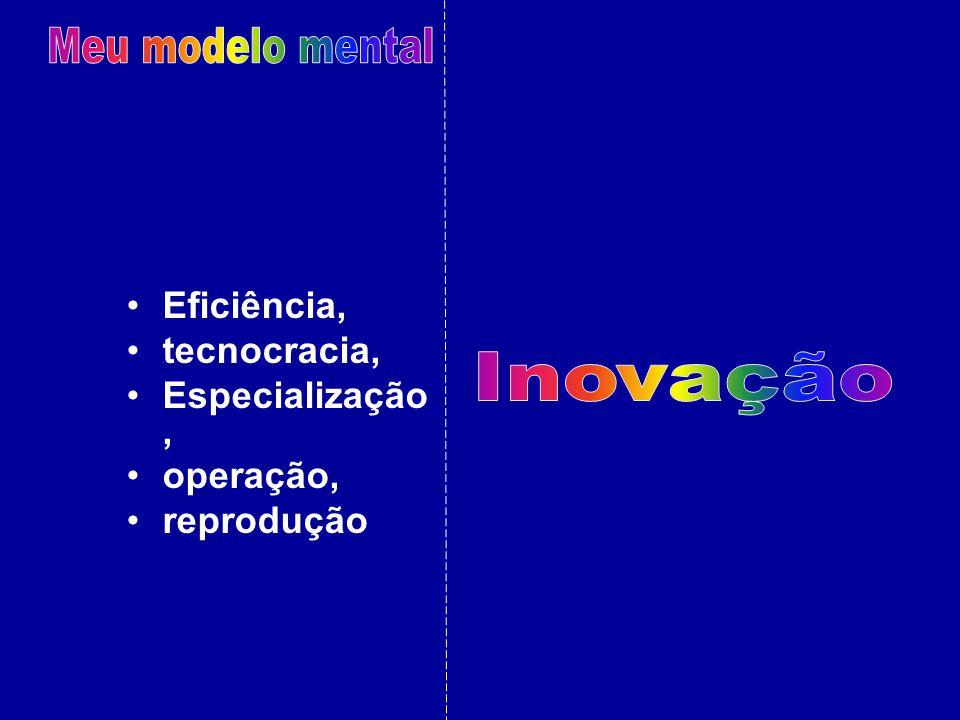 Meu modelo mental Inovação