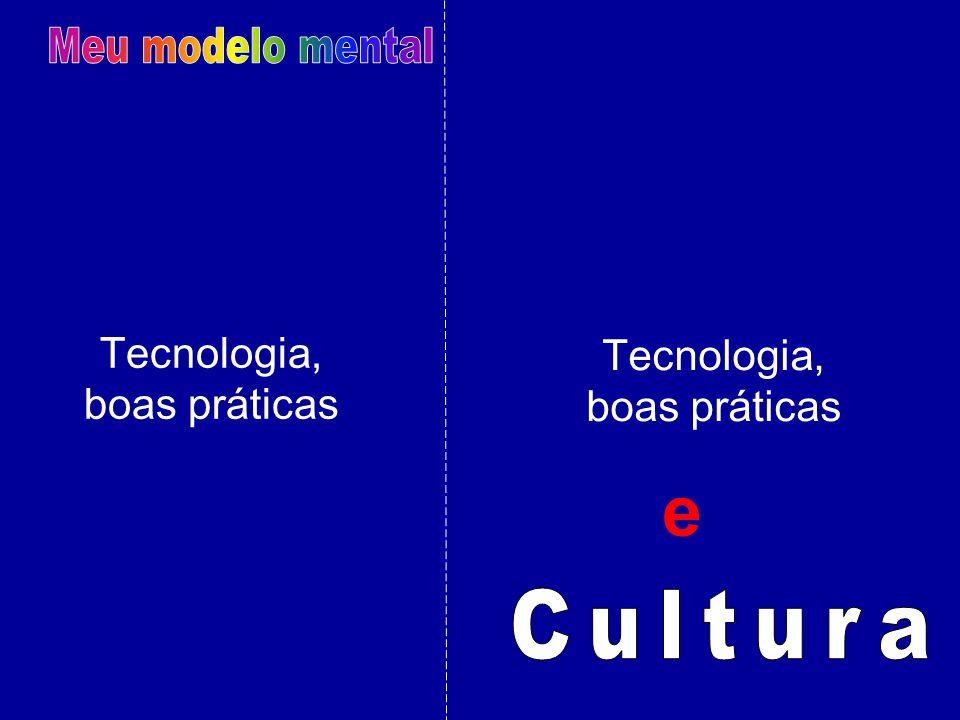 e Meu modelo mental Cultura Tecnologia, Tecnologia, boas práticas
