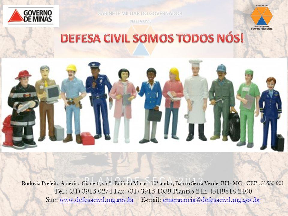 DEFESA CIVIL SOMOS TODOS NÓS!