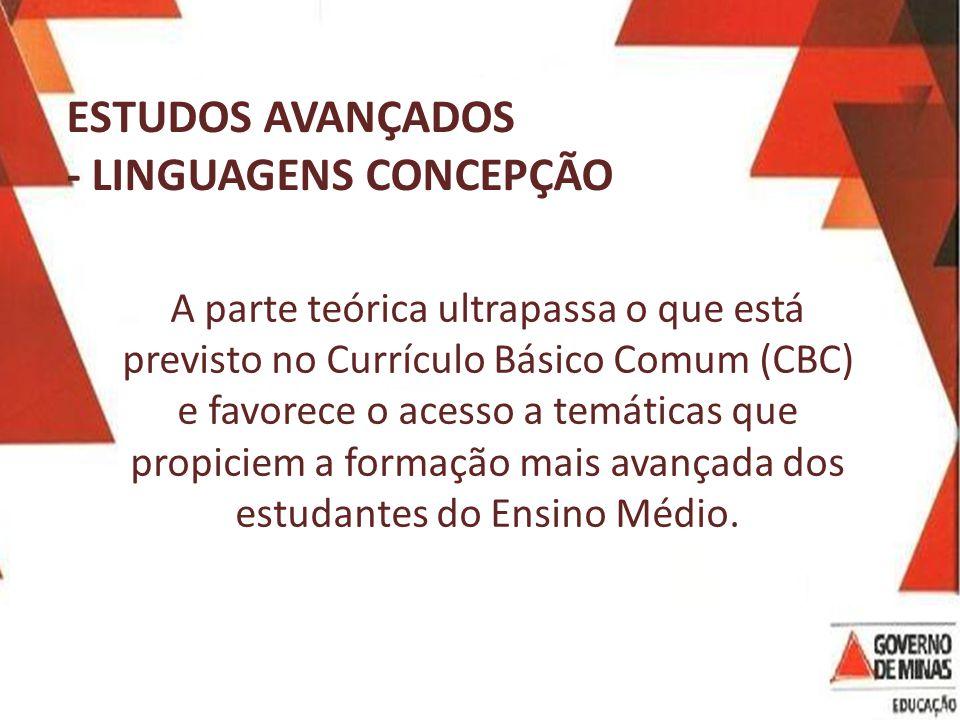 - LINGUAGENS CONCEPÇÃO