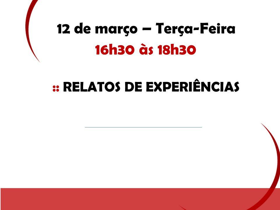 :: RELATOS DE EXPERIÊNCIAS
