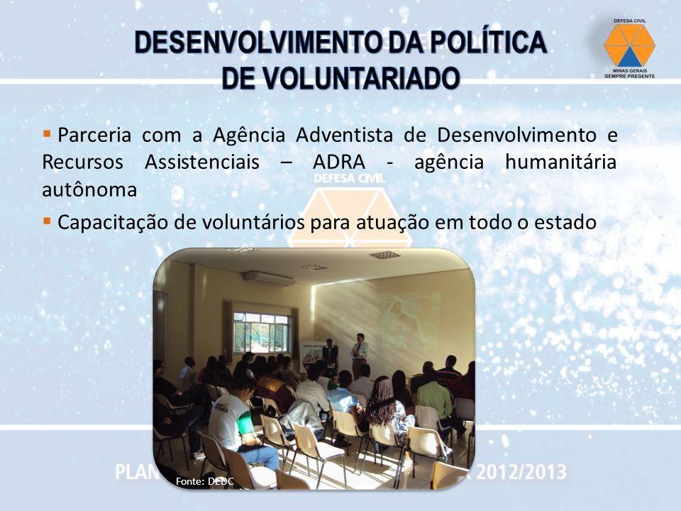 DESENVOLVIMENTO DA POLÍTICA