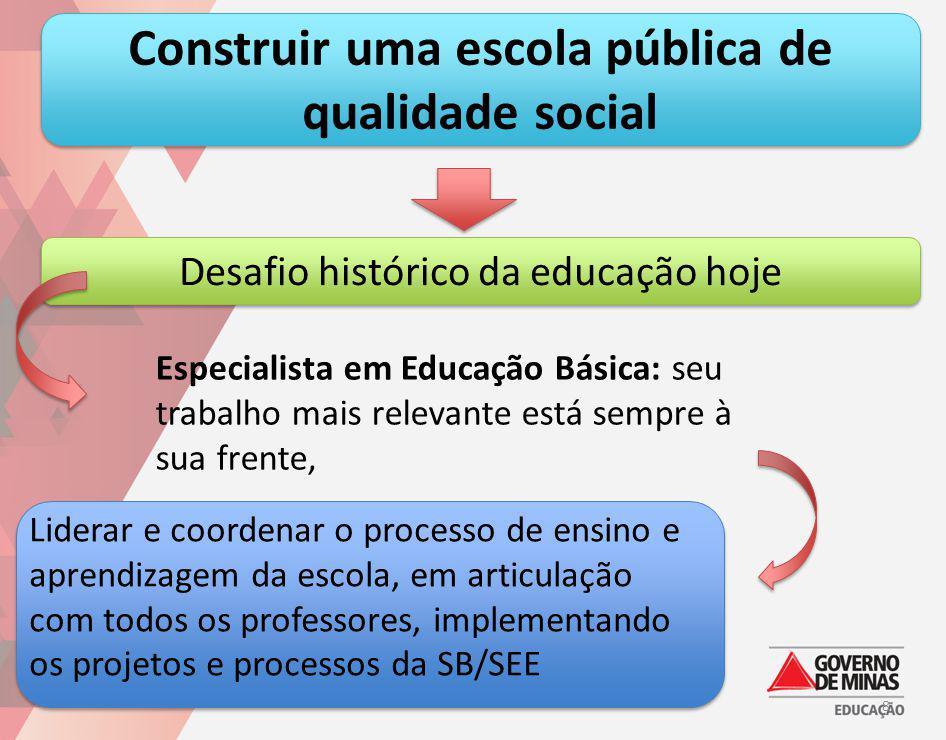 Construir uma escola pública de qualidade social