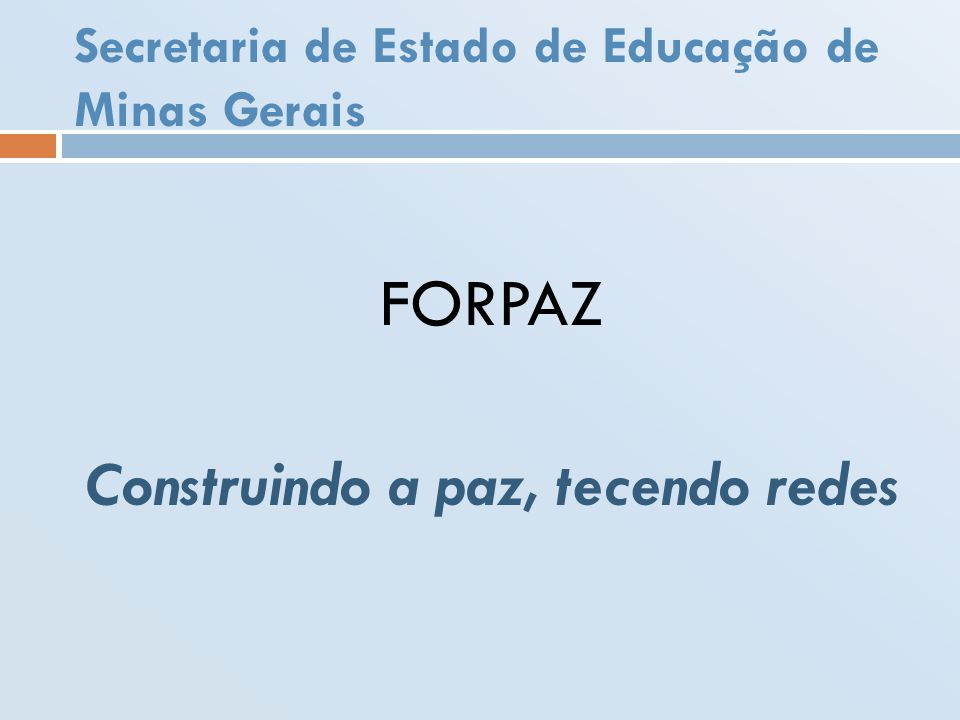 Secretaria de Estado de Educação de Minas Gerais