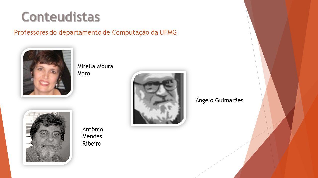 Professores do departamento de Computação da UFMG