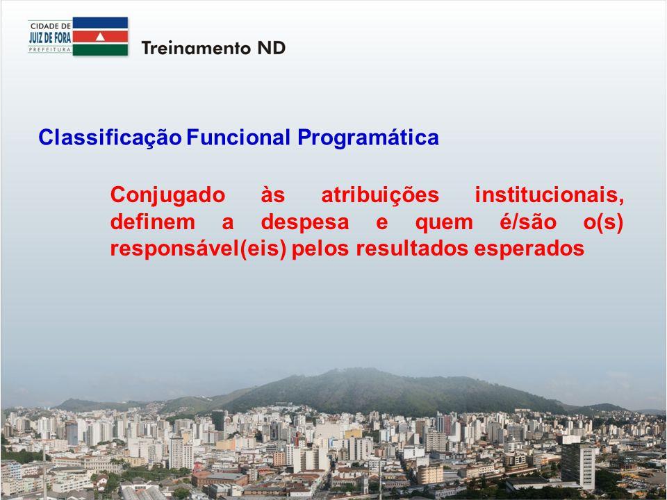 Classificação Funcional Programática