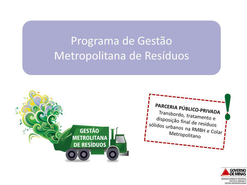 Programa de Gestão Metropolitana de Resíduos