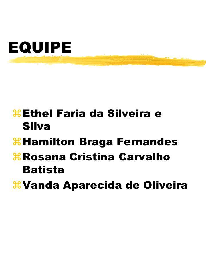EQUIPE Ethel Faria da Silveira e Silva Hamilton Braga Fernandes