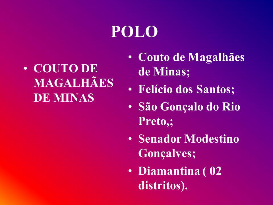POLO Couto de Magalhães de Minas; COUTO DE MAGALHÃES DE MINAS