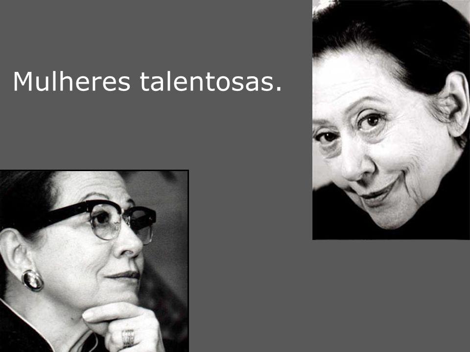Mulheres talentosas. m