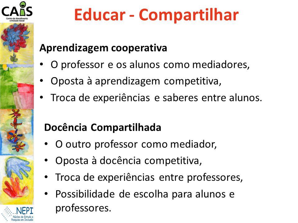 Educar - Compartilhar Aprendizagem cooperativa