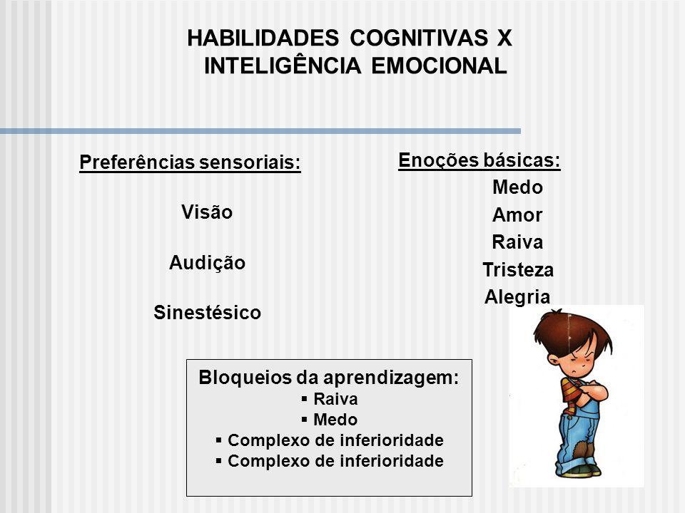 HABILIDADES COGNITIVAS X INTELIGÊNCIA EMOCIONAL