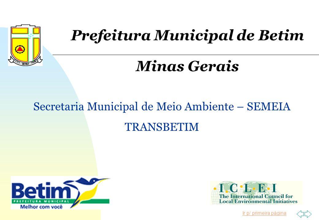 Prefeitura Municipal de Betim Minas Gerais
