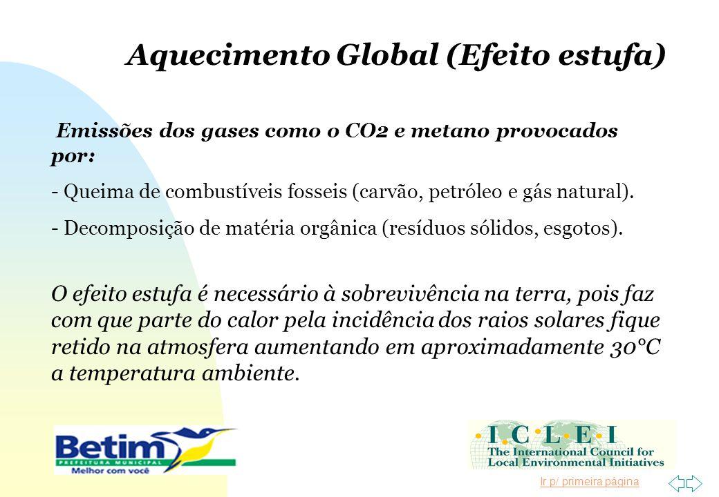 Aquecimento Global (Efeito estufa)