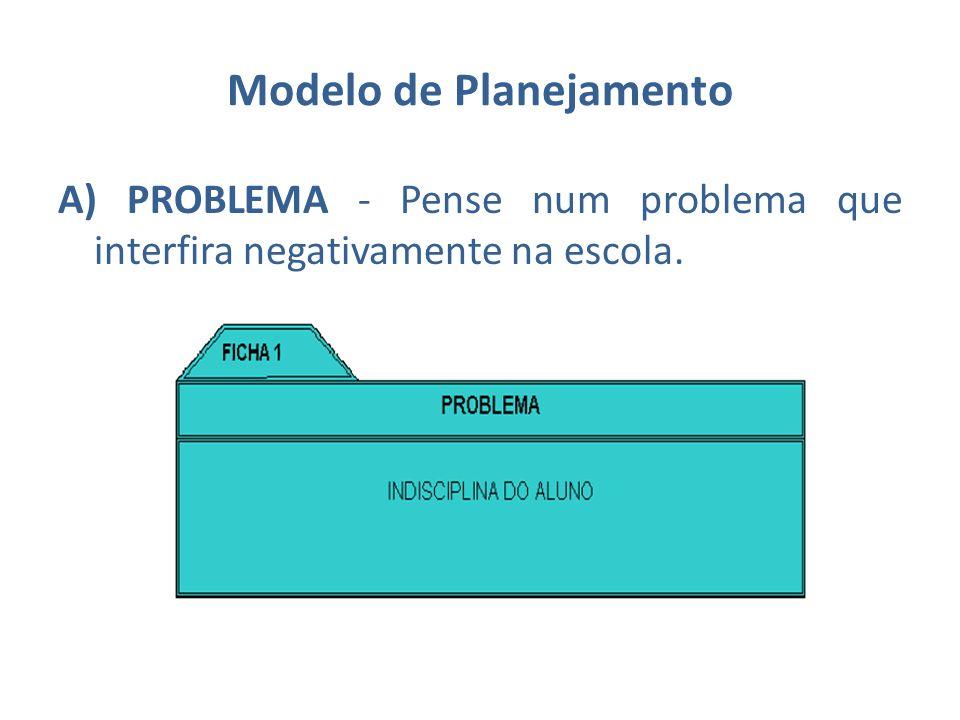 Modelo de Planejamento