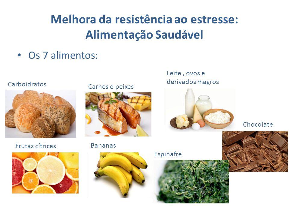 Melhora da resistência ao estresse: Alimentação Saudável