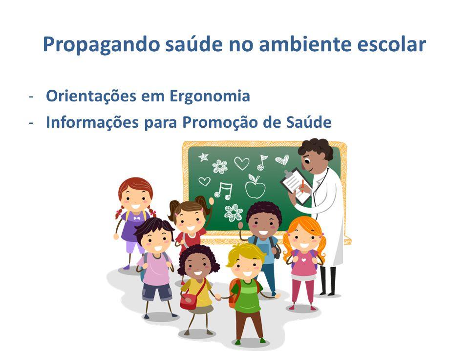 Propagando saúde no ambiente escolar