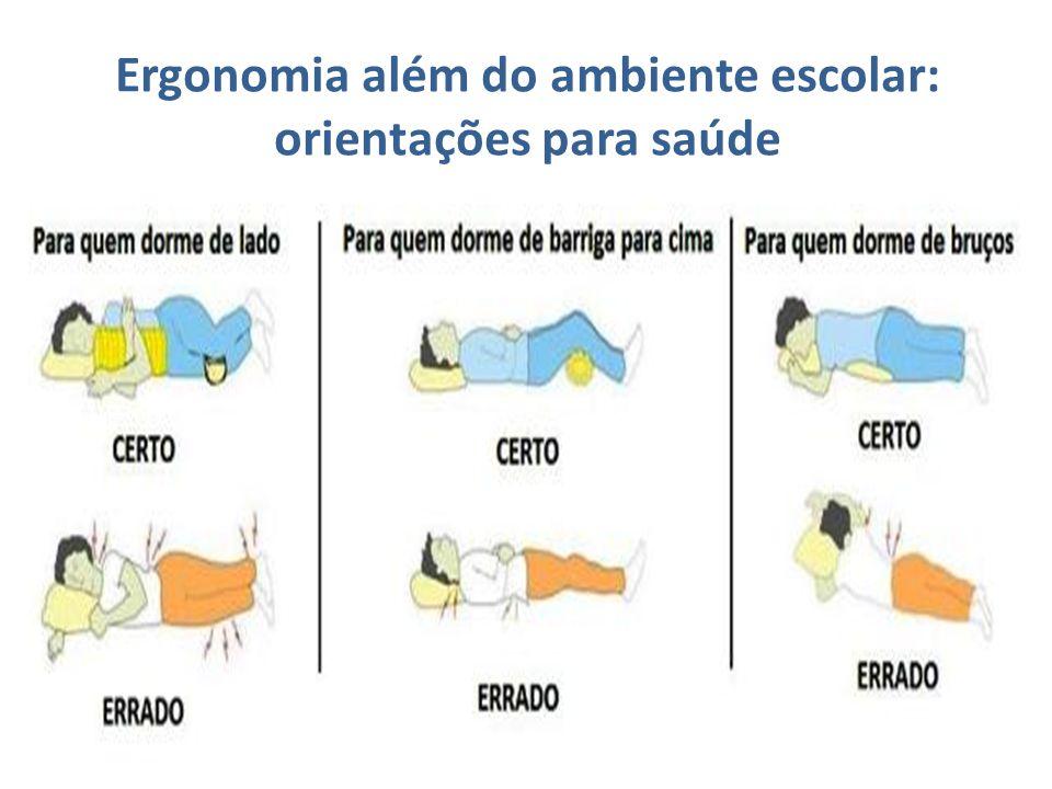 Ergonomia além do ambiente escolar: orientações para saúde