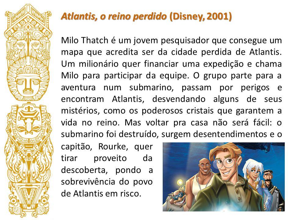 Atlantis, o reino perdido (Disney, 2001)