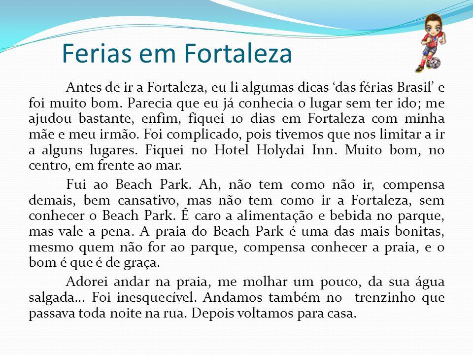 Ferias em Fortaleza