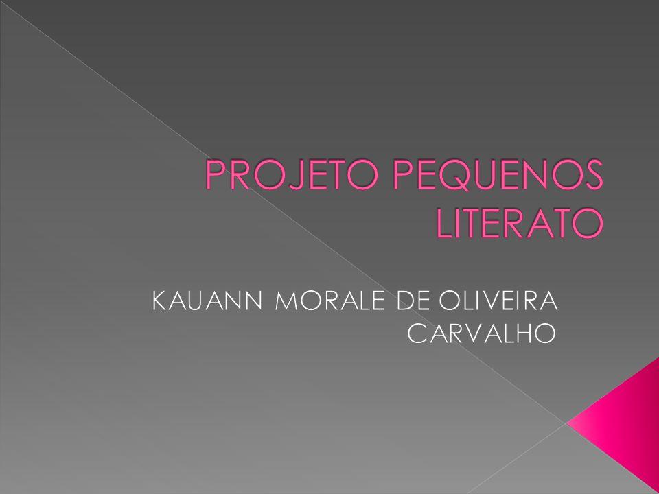 PROJETO PEQUENOS LITERATO
