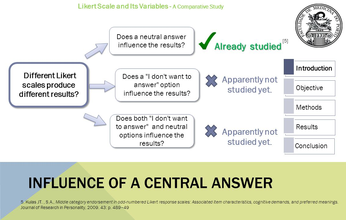 Influence of a central answer
