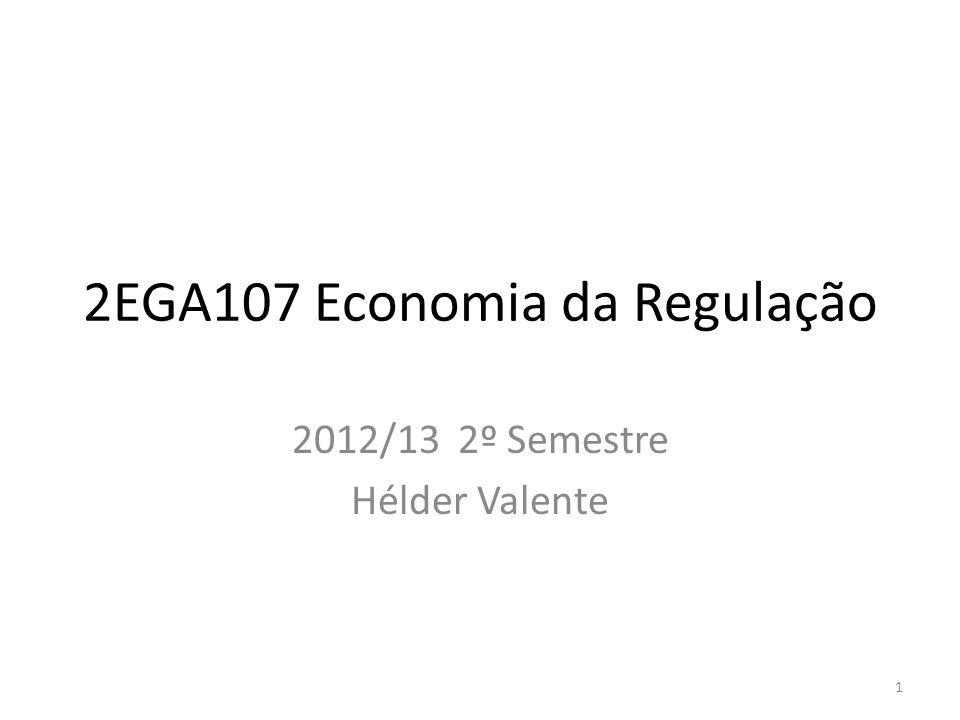 2EGA107 Economia da Regulação