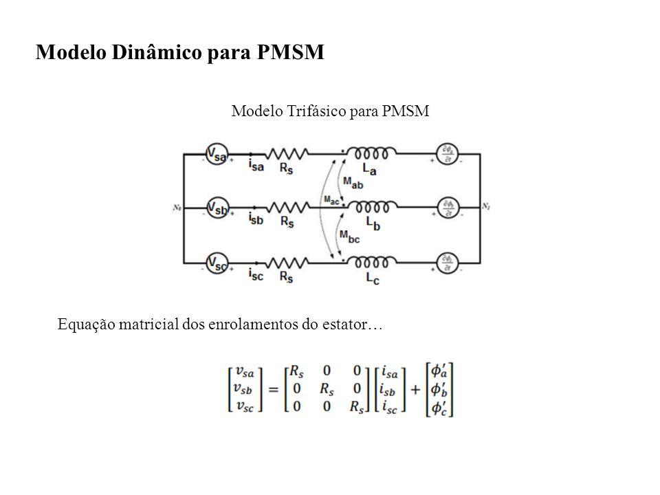 Modelo Dinâmico para PMSM