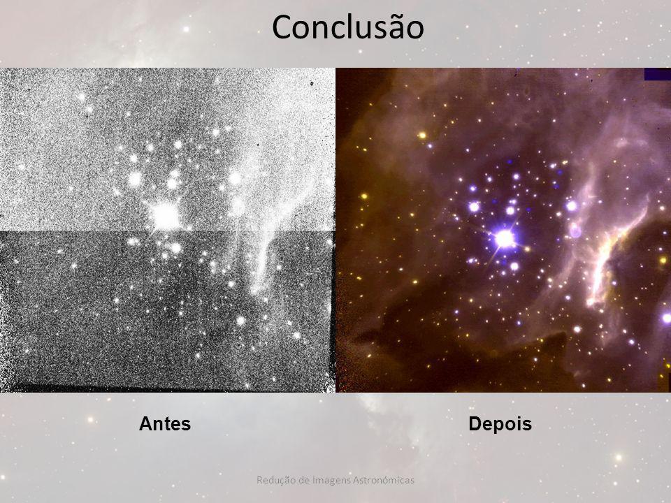 Redução de Imagens Astronómicas