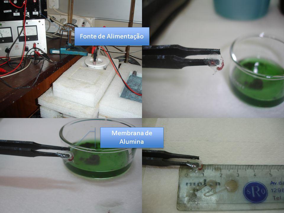 Fonte de Alimentação Membrana de Alumina