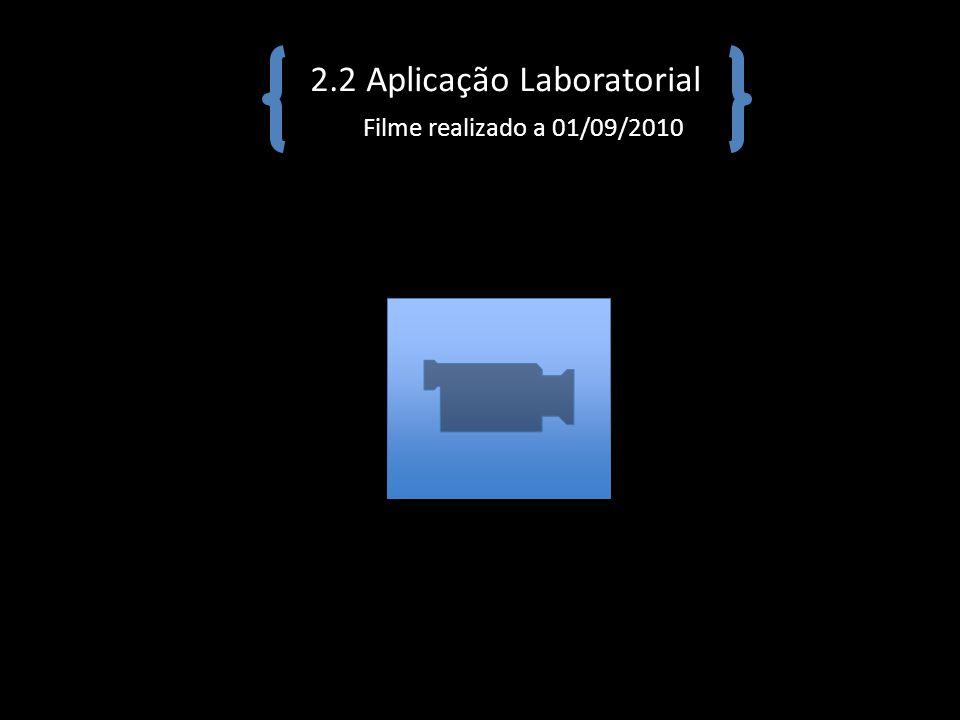 2.2 Aplicação Laboratorial