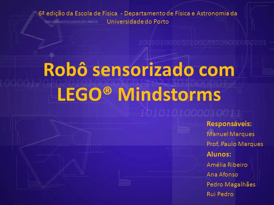 Robô sensorizado com LEGO® Mindstorms