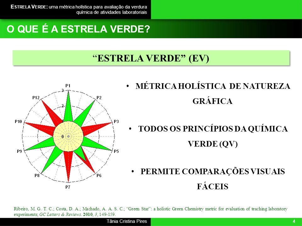 O QUE É A ESTRELA VERDE ESTRELA VERDE (EV)