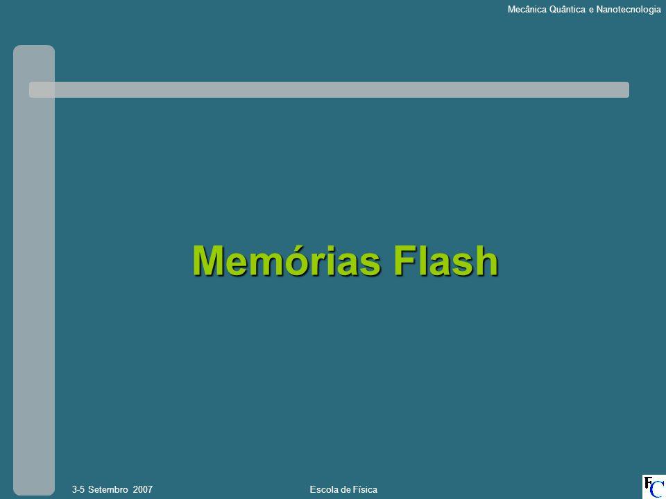 Memórias Flash