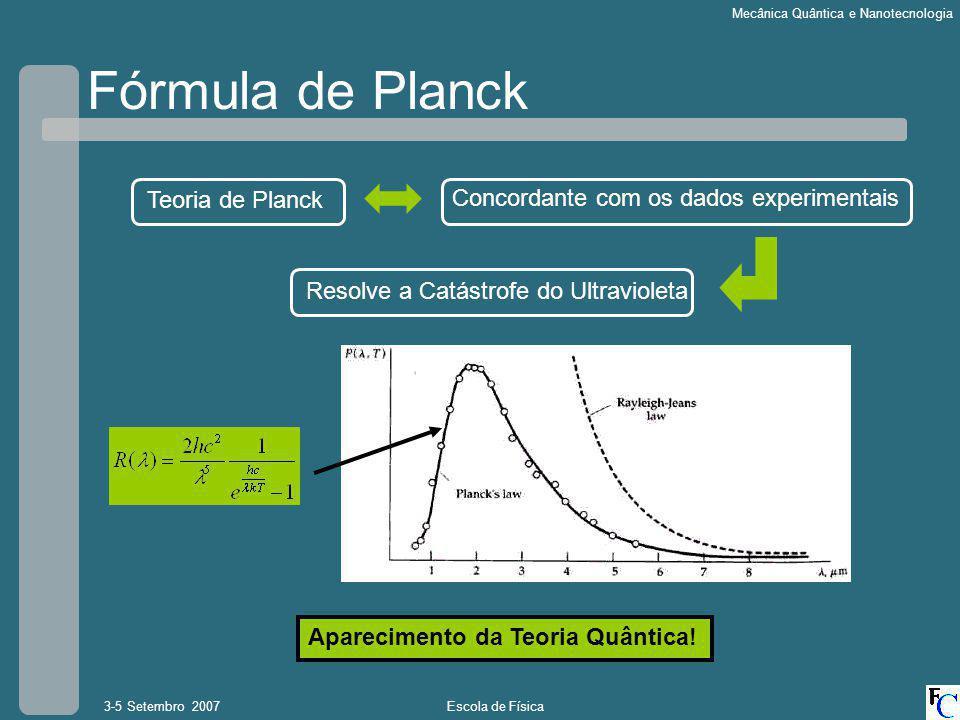 Fórmula de Planck Teoria de Planck