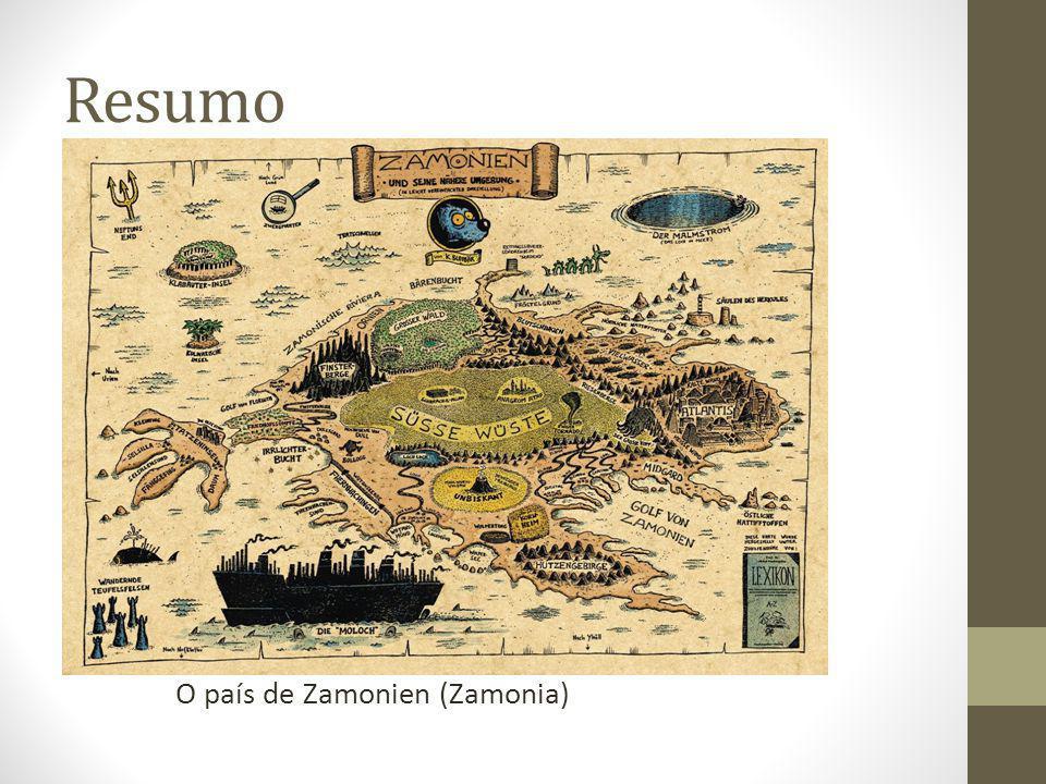 II. Resumo Resumo O país de Zamonien (Zamonia)
