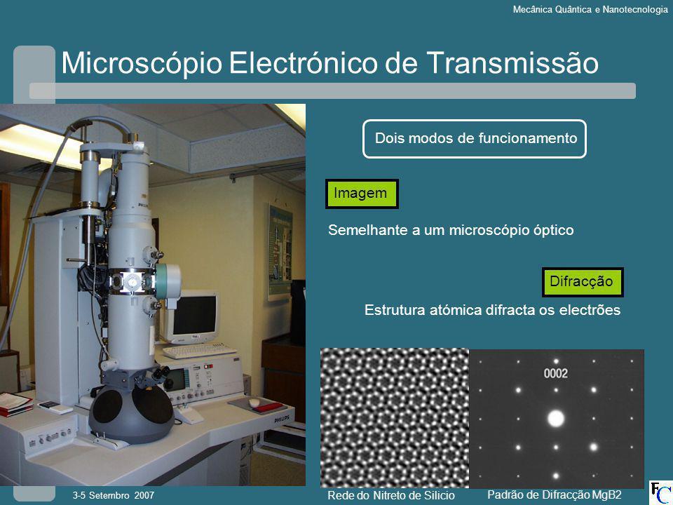 Microscópio Electrónico de Transmissão