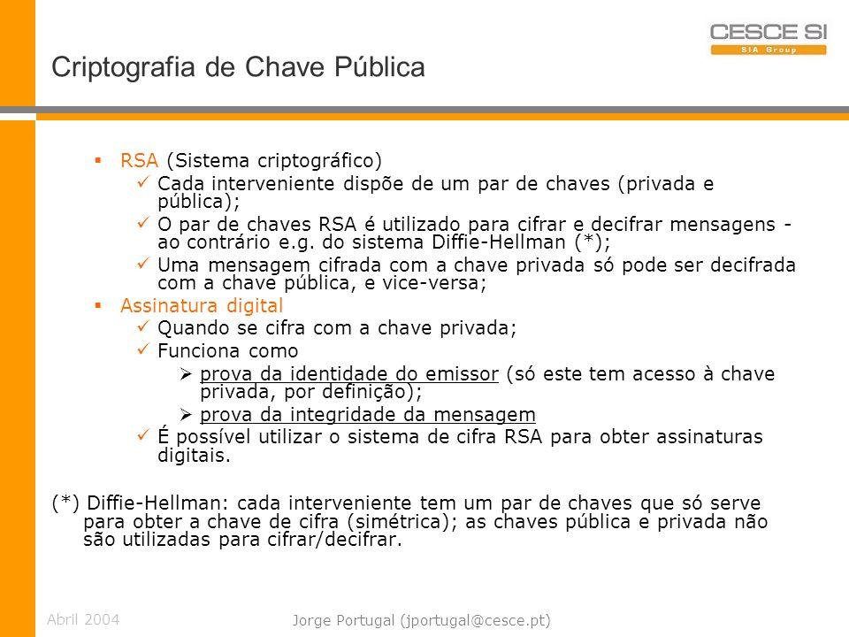 Criptografia de Chave Pública