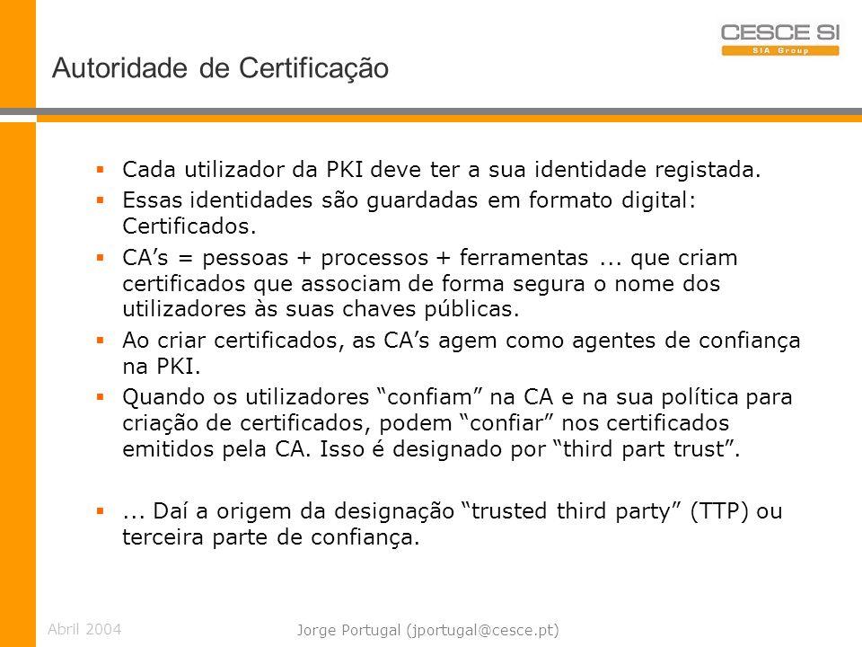 Autoridade de Certificação