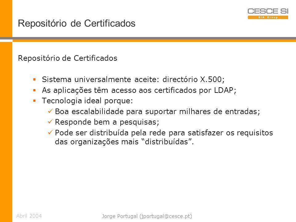Repositório de Certificados
