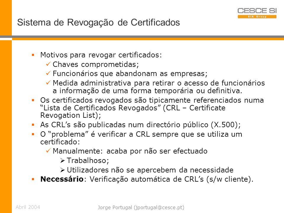 Sistema de Revogação de Certificados
