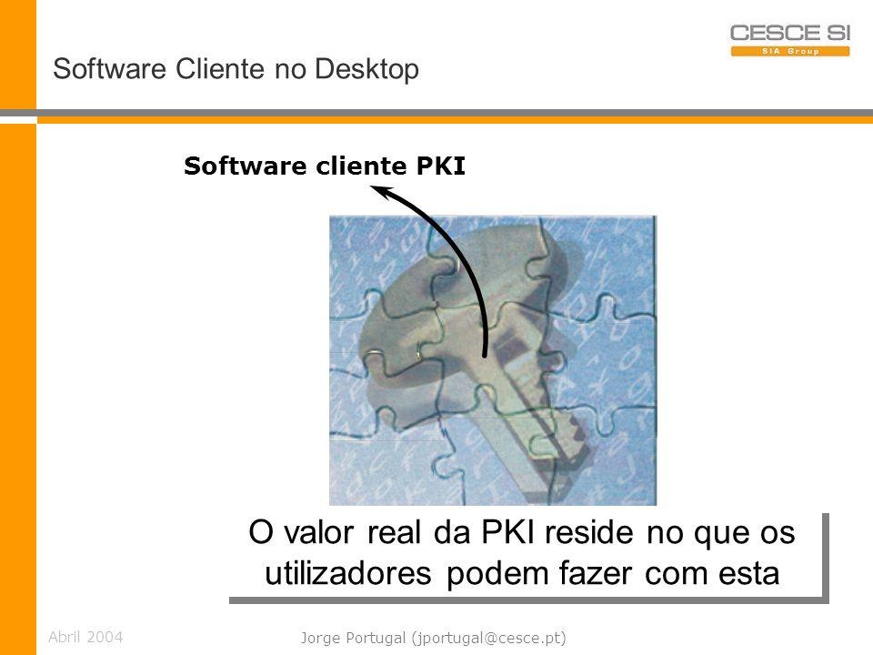 O valor real da PKI reside no que os utilizadores podem fazer com esta
