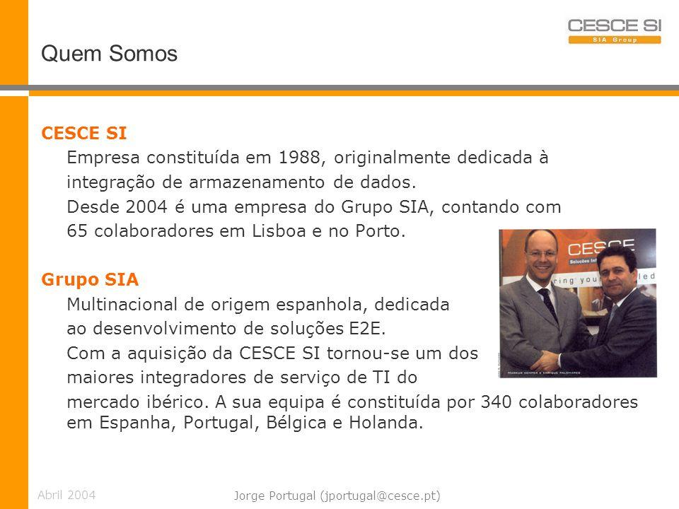 Jorge Portugal (jportugal@cesce.pt)