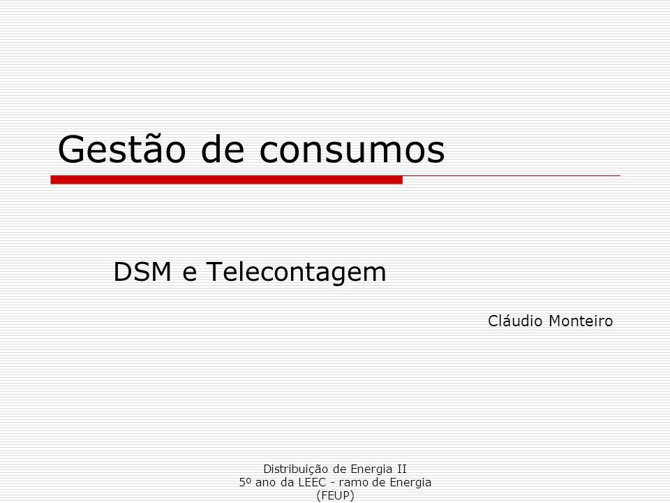 DSM e Telecontagem Cláudio Monteiro