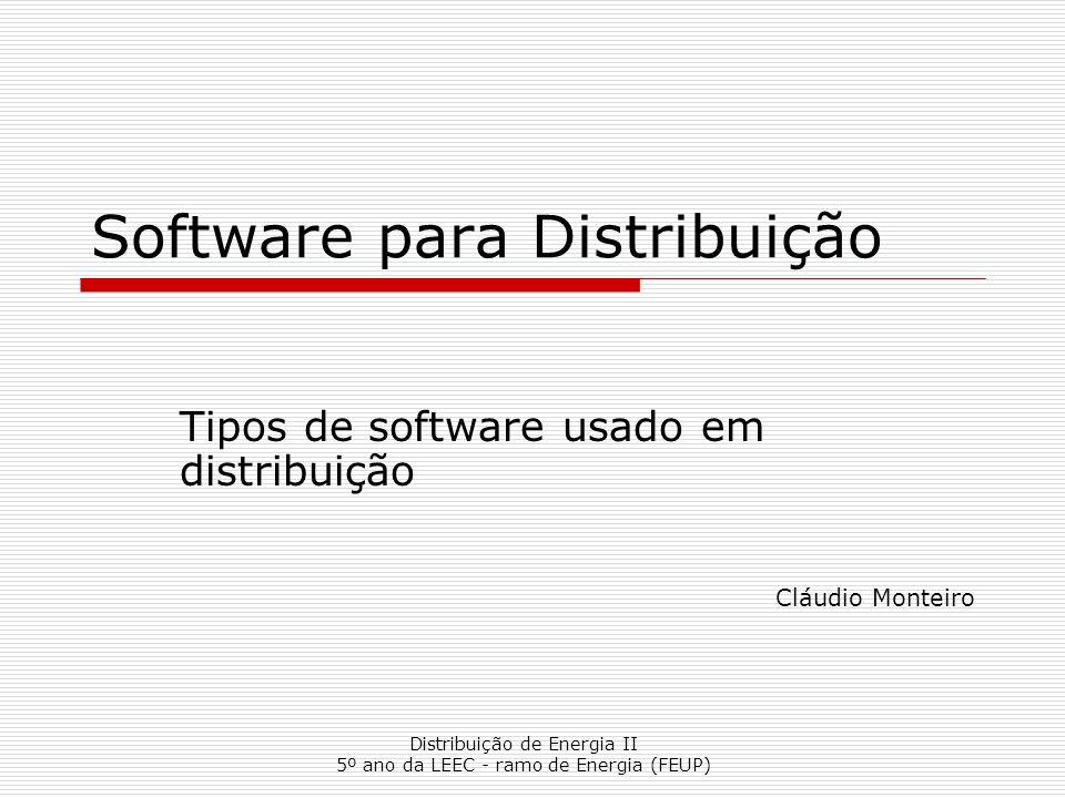 Software para Distribuição